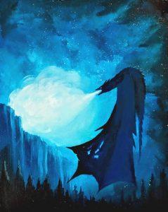 Dragón Azul GOT